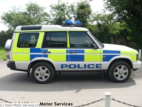 Discovery Range Rover >> Land Rover Police cars photos | Vision Motor Services Ltd