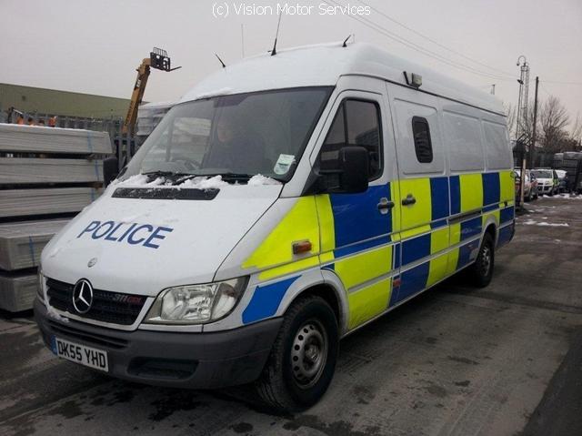 Prisoner Transport Van >> Mercedes Police van photos | Vision Motor Services Ltd